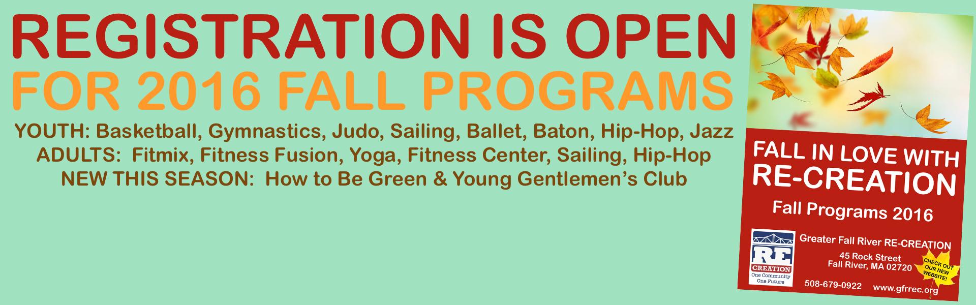 banner fall programs