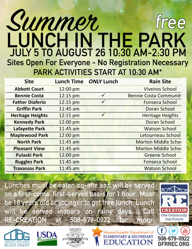 Summer Lunch in the Park 2017