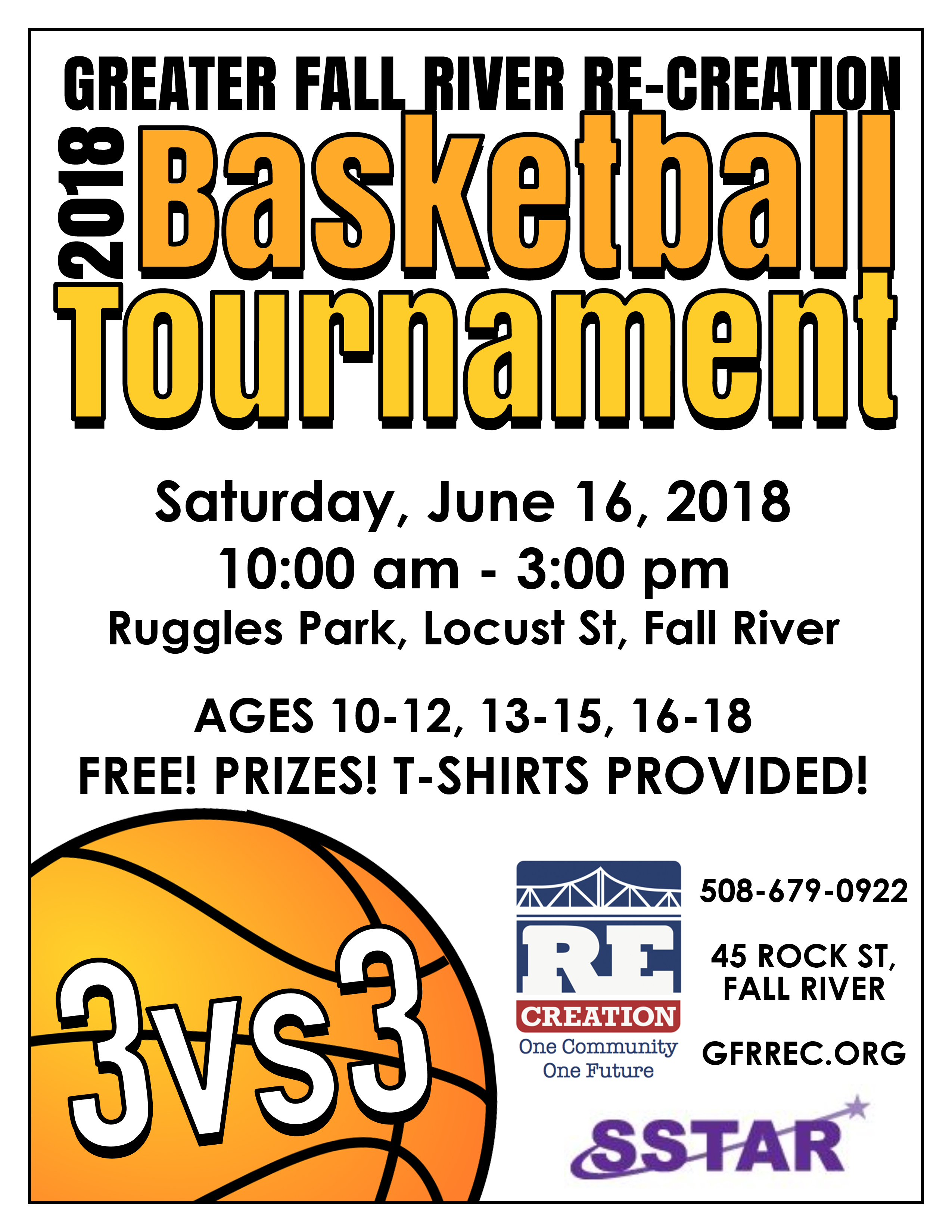 Basketball Tournament Flyer 2018