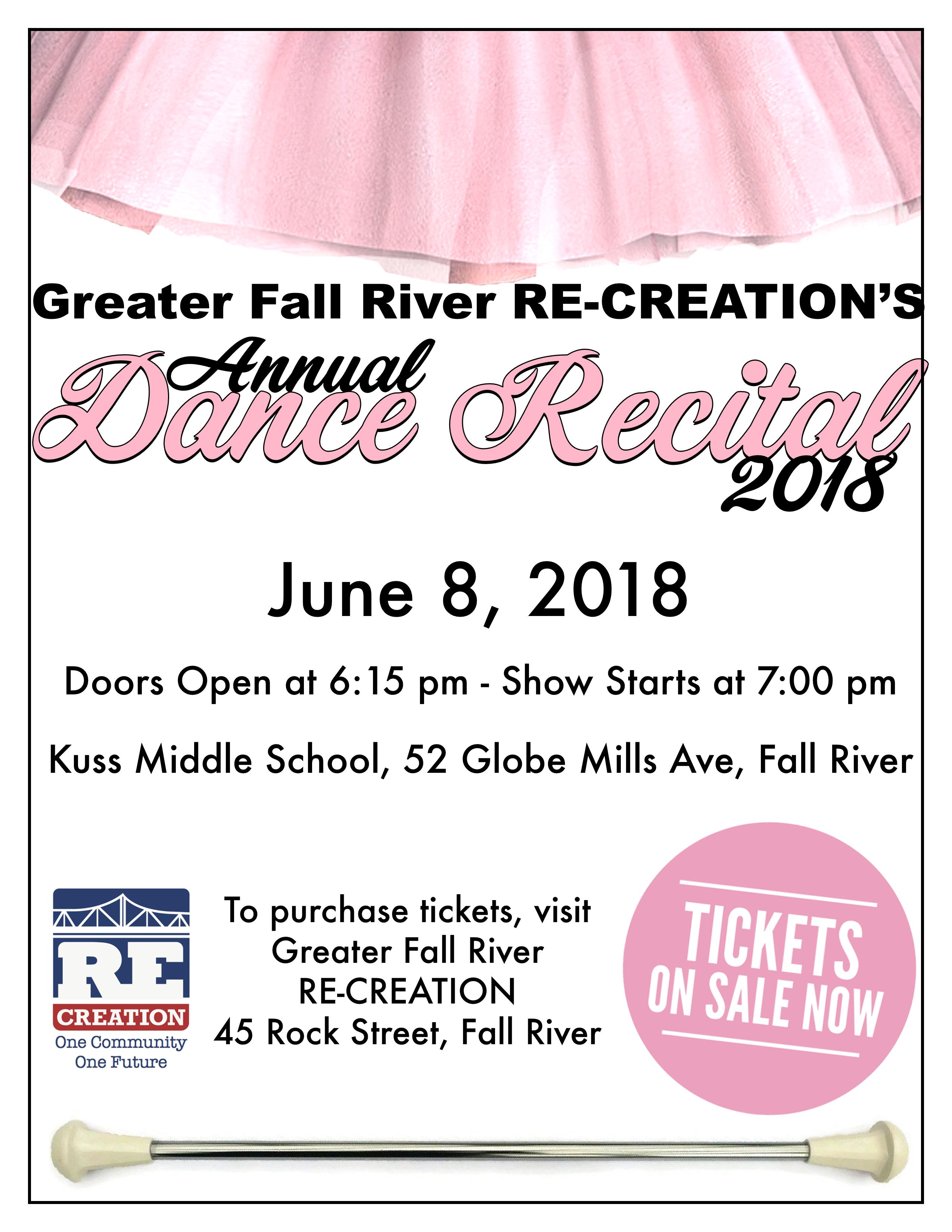 Dance Recital Flyer 2018