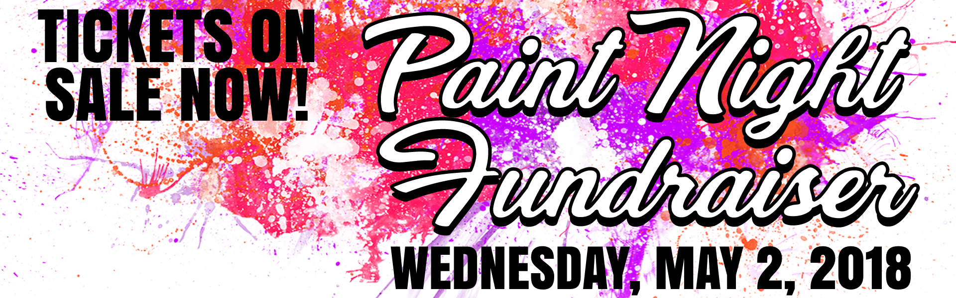 PAINT NIGHT banner 2018