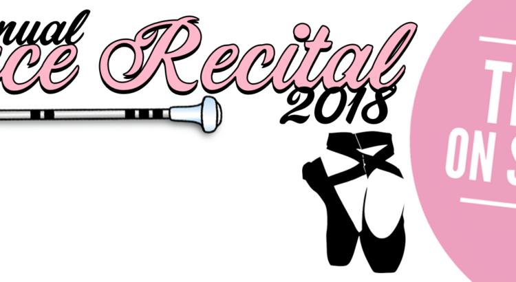 dance recital banner 2018