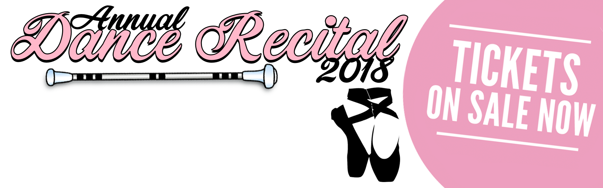 dance recital banner 2018